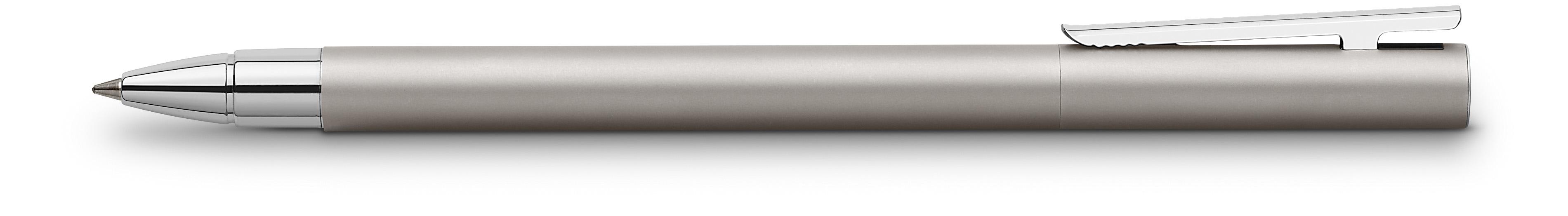 Faber-Castell Tintenroller NEO Slim Edelstahl matt
