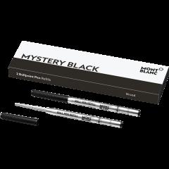 2 Montblanc Kugelschreiberminem (B) Mystery Black