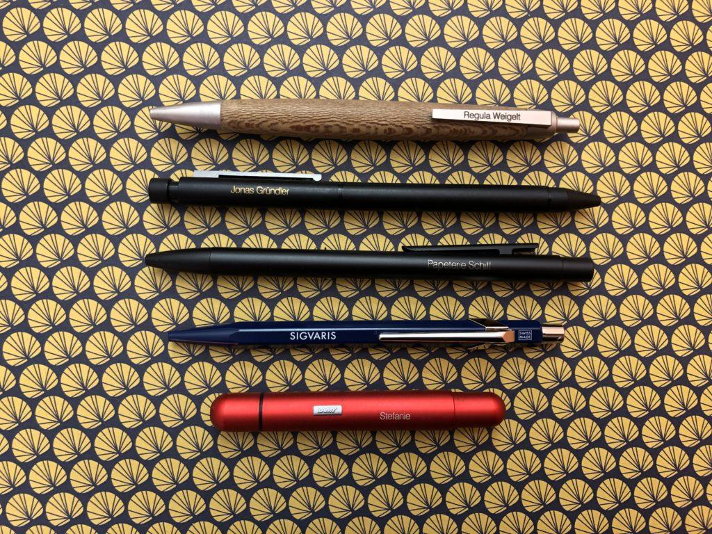 Schreibkultur Gravuren